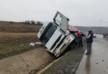На объездной дороге Тбилиси столкнулись два трайлера