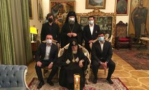 Гарибашвили, Талаквадзе, Каладзе и Кобахидзе поздравили Патриарха с Пасхой