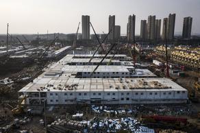 ჩინეთში ახალაშენებული საავადმყოფო ორშაბათს გაიხსნება  - PHOTO