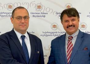 Георгий Джанджгава встретился с главой турецкого Интерпола и бюро Европола