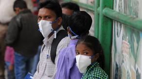 ჰაერის დაბინძურების გამო, სკოლის მოსწავლეებს 5 მილიონი ნიღაბი დაურიგეს
