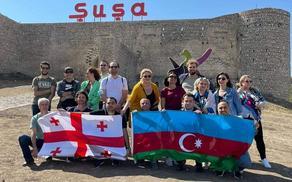 Грузинские журналисты и эксперты побывали в Шуше