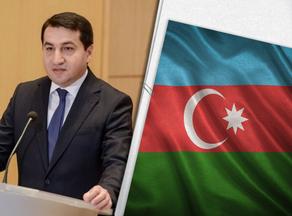 Гаджиев: Приверженность Армении режиму гуманитарного прекращения огня - полное лицемерие