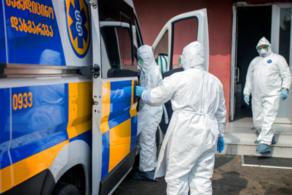 A medical assistant in Tetritskaro got infected