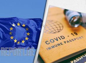 ევროკავშირში კოვიდ-სერტიფიკატები უკვე ერთ მილიონზე მეტმა ადამიანმა მიიღო