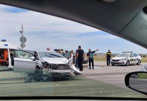 На мосту Рустави-Лочини произошла авария