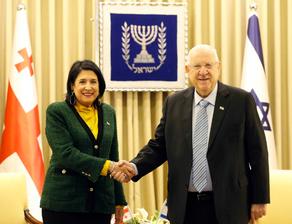 ზურაბიშვილმა ისრაელის პრეზიდენტს საქართველოს მოქალაქეების დასაქმება სთხოვა