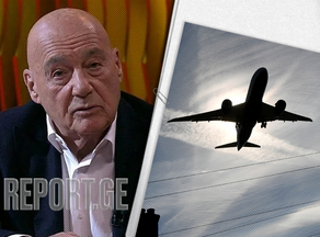 Владимир Познер с гостями покинул Грузию