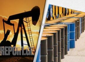 ნავთობის ფასების ვარდნის ტემპი შემცირდა