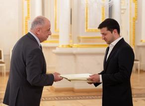Ambassador of Georgia presented letter of credence to Zelensky