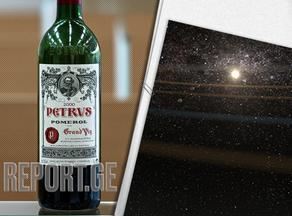ღვინო, რომელიც კოსმოსში იმყოფებოდა 1 მილიონ დოლარად იყიდება