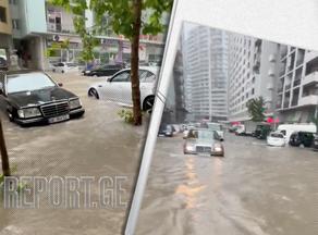 Наводнение в Батуми - затоплены частные дома и коммерческие объекты