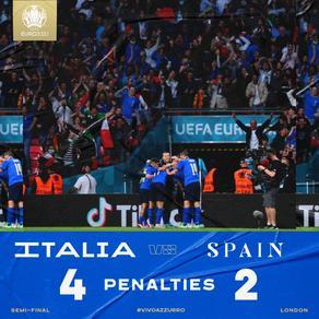 Италия в финале Евро-2020