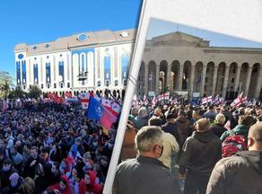 Грузинская оппозиция выдвинула общие требования