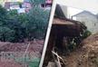 Оползень снес несколько домов в Хелвачаури