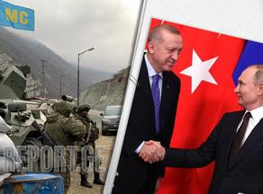 Putin and Erdogan discuss work of monitoring center in Karabakh