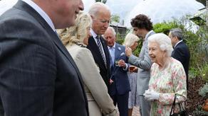 ბაიდენმა G7-ის სამიტზე სამეფო პროტოკოლი დაარღვია