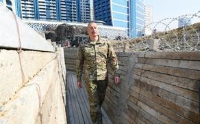 В Баку открылся парк военных трофеев - ФОТО