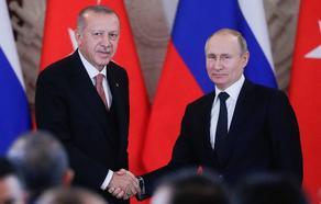 თურქეთისა და რუსეთის პრეზიდენტები ერთმანეთს ხვალ სოჭში შეხვდებიან