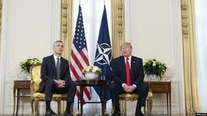 ტრამპი სტოლტენბერგს  NATO-ს როლის გააქტიურებას სთხოვს