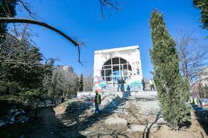 Бывшее здание канатной дороги в Мзиури отремонтируют