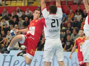 Georgian National Handball team lost 25:21 with North Macedonian team