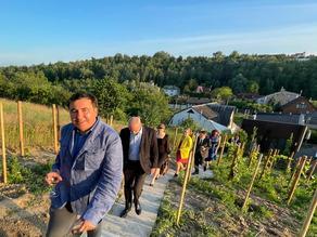 Саакашвили: Я принял послов G7
