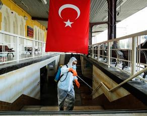 Число инфицированных COVID 19 в Турции увеличилось до 4093