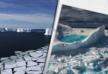 Лед в Арктике тает вдвое быстрее