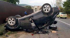 14 და 18 წლის ახალგაზრდები დაშავდნენ გორში მომხდარი ავარიისას