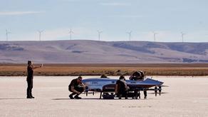 EXA-ს მფრინავმა მანქანამ რბოლის ახალი ისტორია შექმნა - VIDEO