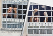 Mikheil Saakashvili greets protesters from the prison cell - PHOTO