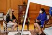 Президент встретилась с послами США и Евросоюза