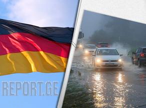 გერმანიაში წყალდიდობის შედეგად დაღუპულთა რიცხვმა 180-ს გადააჭარბა