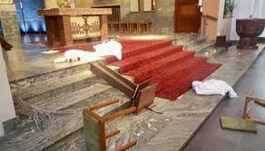 შვედეთში კათოლიკურ ეკლესიას თავს დაესხნენ