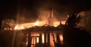 Fire breaks out in Ozurgeti municipality