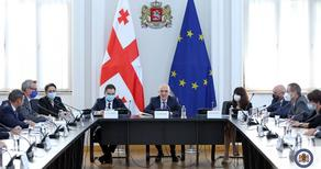 ზალკალიანი ევროკავშირის დიპლომატიური მისიების ხელმძღვანელებს შეხვდა
