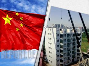 ჩინეთში, 10 სართულიანი კორპუსი 29 საათში ააშენეს