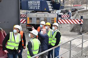 Georgia MPs visit work underway at Enguri HPP