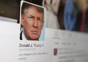 Trump twitted over 200 posts a day