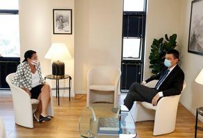 Президент встретилась с представителями оппозиции и власти