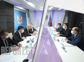 Georgian Finance Minister meets Azerbaijani Ambassador