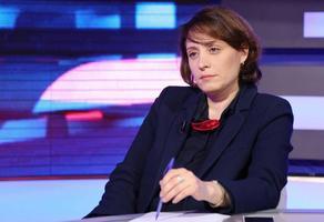 Элене Хоштария подала жалобу на автора кровавых баннеров