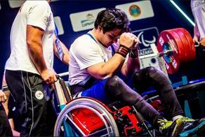 Ahmed Razmazar wins gold at para powerlifting World Cup