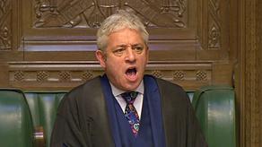 დიდი ბრიტანეთის პარლამენტის სპიკერი პრემიერ-მინისტრს აფრთხილებს, რომ კანონი დაიცვას