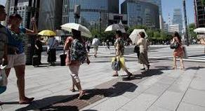 Hot weather killed 148 people in Japan