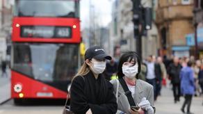 В Великобритании за сутки от коронавируса умер 621 человек