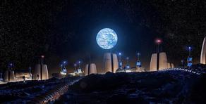 მეცნიერებმა მთვარის სოფლის პროექტი შექმნეს - VIDEO