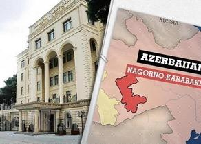 Azerbaijani Defense Ministry issues statement