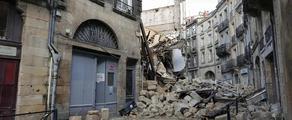 ბორდოში ორი შენობა ჩამოინგრა, არიან დაშავებულები